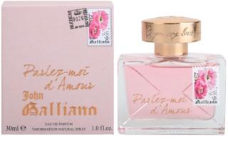 John Galliano Parlez-Moi d'Amour parfémovaná voda pro ženy 30 ml
