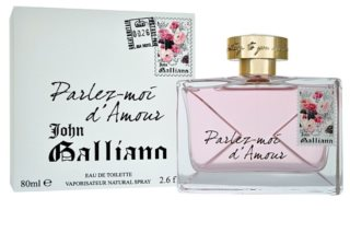John Galliano Parlez-Moi d'Amour Eau de Toilette for Women 80 ml
