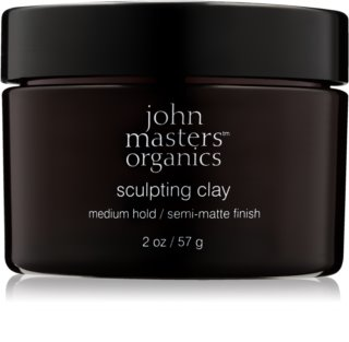 John Masters Organics Sculpting Clay Medium Hold modellierende Paste für mattes Aussehen