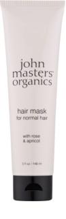 John Masters Organics Rose & Apricot Maske für die Haare
