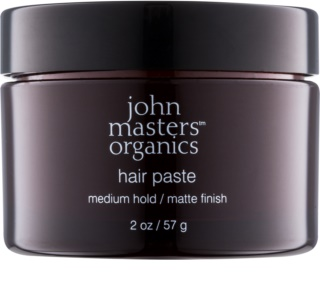 John Masters Organics Sculpting Clay Medium Hold pâte modelante effet mat