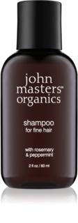 John Masters Organics Rosemary & Peppermint champô para cabelo fino