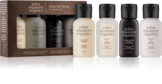 John Masters Organics Travel Kit Hair & Body косметичний набір IV.