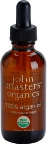 John Masters Organics 100% Argan Oil Regenerating Oil On Face, Body And Hair
