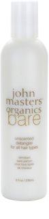John Masters Organics Bare Unscented Condicionador para todos os tipos de cabelo sem perfume