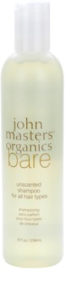 John Masters Organics Bare Unscented Shampoo For All Hair Types Fragrance-Free