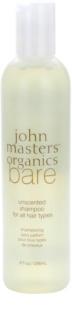 John Masters Organics Bare Unscented champô para todos os tipos de cabelo sem perfume