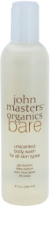 John Masters Organics Bare Unscented Shower Gel Without Perfume