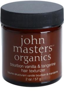 John Masters Organics Bourbon Vanilla & Tangerine pasta styling para aspeto perfeito de cabelo