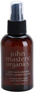 John Masters Organics Green Tea & Calendula ausspülfreier Conditioner im Spray gegen strapaziertes Haar