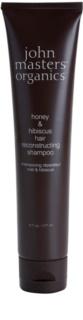 John Masters Organics Honey & Hibiscus erneuerndes Shampoo zur Stärkung der Haare