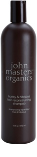 John Masters Organics Honey & Hibiscus Restoring Shampoo For Hair Strengthening