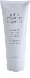 John Masters Organics Lavender & Avocado intenzívny kondicionér pre suché a poškodené vlasy