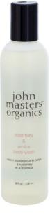 John Masters Organics Rosemary & Arnica Élénkítő tusolózselé