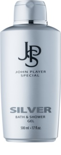 John Player Special Silver Douchegel voor Mannen 500 ml