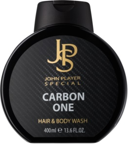 John Player Special Carbon One Douchegel voor Mannen 400 ml