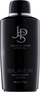 John Player Special Black Körperlotion für Herren 500 ml