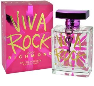 John Richmond Viva Rock Eau de Toilette voor Vrouwen  100 ml