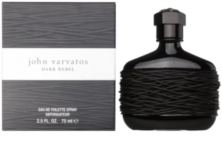 John Varvatos Dark Rebel eau de toilette per uomo 75 ml
