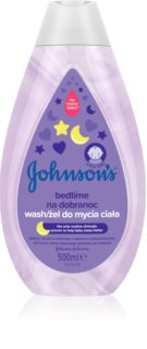 Johnson's Baby Bedtime Cleansing Gel for Good Night's Sleep for Baby's Skin