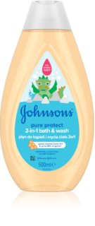 Johnson's Baby Pure Protect τζελ για ντους και μπάνιο για παιδιά