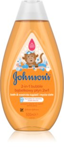 Johnson's Baby Wash and Bath peneča kopel in gel za umivanje 2 v 1