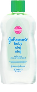 Johnson's Baby Care huile à l'aloe vera