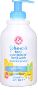 Johnson's Baby Pure Protect jabón líquido para manos para niños