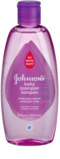 Johnson's Baby Wash and Bath sampon cu efect calmant cu lavanda