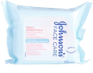Johnson's Face Care Moisturising toallitas limpiadoras para el rostro