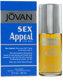 Jovan Sex Appeal Eau de Cologne voor Mannen 88 ml
