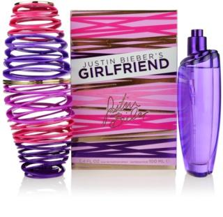 Justin Bieber Girlfriend eau de parfum nőknek 100 ml