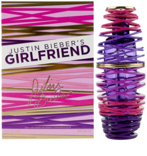 Justin Bieber Girlfriend eau de parfum για γυναίκες