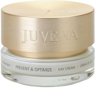 Juvena Prevent & Optimize dnevna pomirjujoča krema za občutljivo kožo