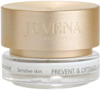 Juvena Prevent & Optimize crema antiarrugas contorno de ojos para pieles sensibles
