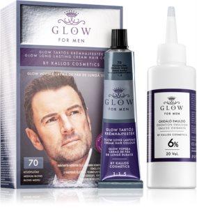 Kallos Glow Pernamente Haarkleuring  voor Mannen