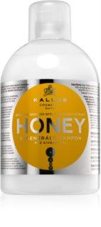 Kallos KJMN vlažilni in revitalizacijski šampon za suhe in poškodovane lase