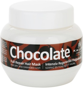Kallos Chocolate maseczka regenerująca do włosów suchych i zniszczonych