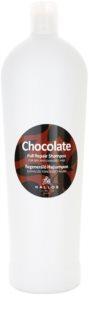 Kallos Chocolate shampoo rigenerante per capelli rovinati e secchi