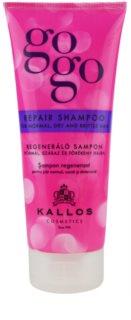 Kallos Gogo відновлюючий шампунь для сухого та ламкого волосся