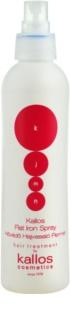 Kallos KJMN védő spray a hajformázáshoz, melyhez magas hőfokot használunk