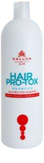 Kallos KJMN šampon s keratinom za suhe in poškodovane lase