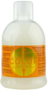 Kallos KJMN шампунь для фарбованого та ослабленого  волосся