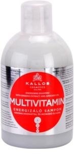 Kallos KJMN energizující šampon