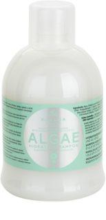 Kallos KJMN зволожуючий шампунь з екстрактом водоростей та миглалевою олійкою