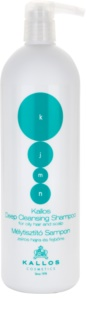 Kallos KJMN tiefenreinigendes Shampoo für fettiges Haar und Kopfhaut