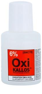 Kallos Oxi emulsión oxidante cremosa 6%