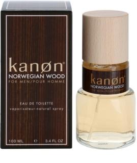 Kanon Norwegian Wood Eau de Toilette voor Mannen 100 ml