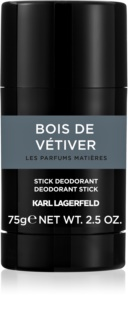Karl Lagerfeld Bois de Vétiver desodorizante em stick para homens 75 g