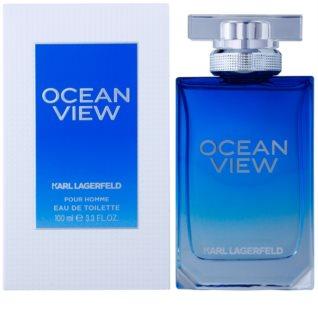 Karl Lagerfeld Ocean View Eau de Toilette pentru barbati 100 ml